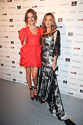 Left to right, NATALIA VODIANOVA and LUCY YEOMANS at The Love Ball hosted by Natalia Vodianova and Lucy Yeomans to raise funds for The Naked Heart Foundation held at The Round House, Chalk Farm, London on 23rd February 2010.