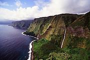 Waterfall Kohala Coast, Big Island of Hawaii, Hawaii