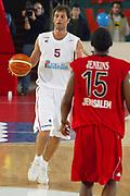 DESCRIZIONE : Roma Uleb Cup 2005-06 Lottomatica Pulitalia Virtus Roma Hapoel Migdal Jerusalem <br /> GIOCATORE : Giachetti <br /> SQUADRA : Lottomatica Pulitalia Virtus Roma <br /> EVENTO : Uleb Cup 2005-2006 <br /> GARA : Lottomatica Pulitalia Virtus Roma Hapoel Migdal Jerusalem <br /> DATA : 28/02/2006 <br /> CATEGORIA : Palleggio <br /> SPORT : Pallacanestro <br /> AUTORE : Agenzia Ciamillo-Castoria/G.Ciamillo
