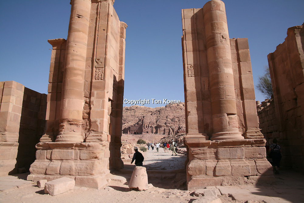 Petra, ancient city in Jordan is a popular tourist spot