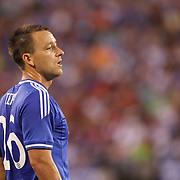John Terry, Chelsea, in action during the Chelsea V AC Milan Guinness International Champions Cup tie at MetLife Stadium, East Rutherford, New Jersey, USA.  4th August 2013. Photo Tim Clayton