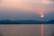 Early morning sunrise, Gir Forest National Park and Wildlife Sanctuary, Gujarat, India