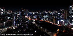 View from my hotel room. Tokyo, Japan. Tuesday, December 9, 2014. Photograph ©2014 Michael Lichter.