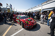 January 24-27, 2019. IMSA Weathertech Series ROLEX Daytona 24. #9 PFAFF Motorsports Porsche 911 GT3 R, GTD: Scott Hargrove, Zacharie Robichon, Lars Kern