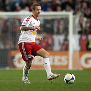 David Carney, New York Red Bulls, in action during the New York Red Bulls V Houston Dynamo , Major League Soccer second leg of the Eastern Conference Semifinals match at Red Bull Arena, Harrison, New Jersey. USA. 6th November 2013. Photo Tim Clayton