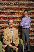 Roger Thomas and Gino Capito with Telecomp Inc., in Bentonville, Ark.<br /> <br /> Editorial rights granted to the Northwest Arkansas Business Journal.