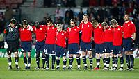 Photo: Richard Lane/Richard Lane Photography. <br /> Wales v Norway. Nationwide International. 06/02/2008.