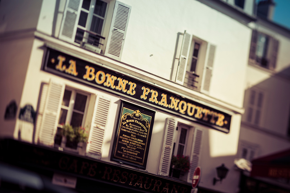 La Bonne Franquette, Montmartre, Paris