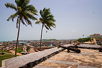 View of Elmina from Elmina Castle