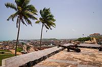View of Elmina from Elmina Castle