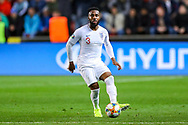 England defender Danny Rose during the UEFA European 2020 Qualifier match between Czech Republic and England at Sinobo Stadium, Prague, Czech Republic on 11 October 2019.