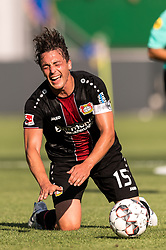 Julian Baumgartlinger of Bayer 04 Leverkusen during the Pre-season Friendly match between Fortuna Sittard and Bayer Leverkusen at the Fortuna Sittard Stadium on July 28, 2018 in Sittard, The Netherlands