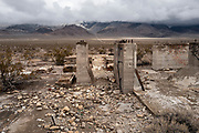 Image of a roadside attraction ruin along Route 66 in Nevada, American Southwest by Randy Wells
