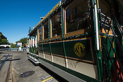 Cable Car 26 decorated for the holidays   December 24, 2012