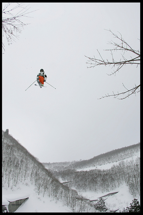 Rider: Seb Michaud.Location:  Hakuba Happo-One (Japan)