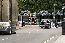 Pictured: <br /> With the Edinburgh tourist season building up, the Palace of Holyrood will be visited by thousands of visitors and the Royal Hpousehold wants their Scottish base to look its best<br /> <br /> <br /> Ger Harley | EEm 2 May 2019