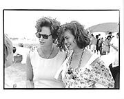 Sandy Pittman, Bianca Jagger, Polo, Bridgehampton 26/8/95 © Copyright Photograph by Dafydd Jones 66 Stockwell Park Rd. London SW9 0DA Tel 020 7733 0108 www.dafjones.com