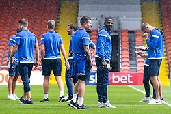 Bristol Rovers arrive at Blackpool for their Sky Bet League One fixture - Mandatory by-line: Robbie Stephenson/JMP - 03/08/2019 - FOOTBALL - Bloomfield Road - Blackpool, England - Blackpool v Bristol Rovers - Sky Bet League One