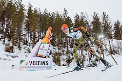 01.03.2017, Lahti, FIN, FIS Weltmeisterschaften Ski Nordisch, Lahti 2017, Nordische Kombination, Langlauf, im Bild Bjoern Kircheisen (GER) // Bjoern Kircheisen of Germany during Crosss Country competition of Nordic Combined of FIS Nordic Ski World Championships 2017. Lahti, Finland on 2017/03/01. EXPA Pictures © 2017, PhotoCredit: EXPA/ JFK