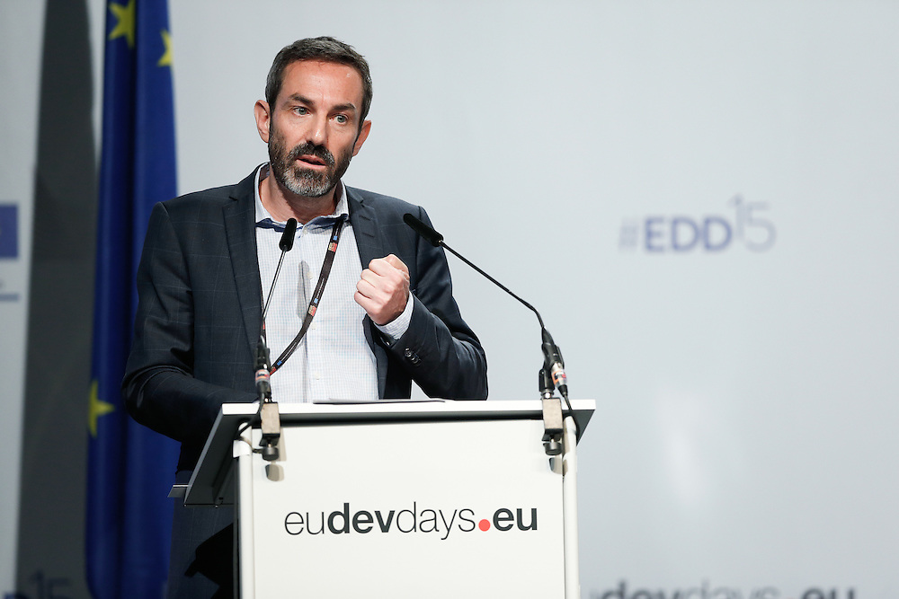 03 June 2015 - Belgium - Brussels - European Development Days - EDD - Human Rights - Sustainable Development Goal - What role for the National Human Rights Institutions? - Ignacio Saiz , Executive Director, Centre for Economic and Social Rights © European Union