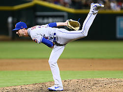 June 14, 2018 - Phoenix, AZ, U.S. - PHOENIX, AZ - JUNE 14: New York Mets relief pitcher Jerry Blevins (39) pitches during the MLB baseball game between the Arizona Diamondbacks and the New York Mets on June 14, 2018 at Chase Field in Phoenix, AZ (Photo by Adam Bow/Icon Sportswire) (Credit Image: © Adam Bow/Icon SMI via ZUMA Press)