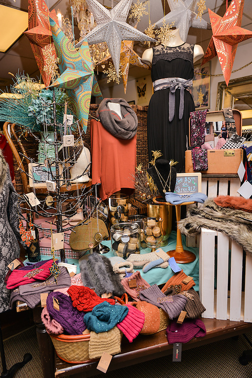 Assorted items for sale at NOTO Boutique.