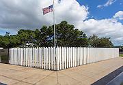 USS Oklahoma Memorial, Ford Island, Pearl Harbor, Oahu, Hawaii