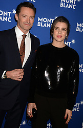 , Hugh Jackman attending the Montblanc Meisterstuck Le Petit Prince event at One World Trade Center Observatory on April 4, 2018 in New York City, NY, USA. Photo by Dennis Van Tine/ABACAPRESS.COM