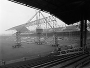 Section of New Stand at Croke Park for Belfast Telegraph (New Hogan Stand).21/01/1959