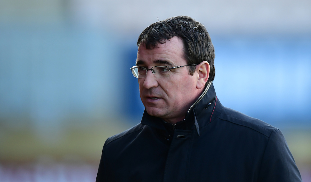 Blackpool manager Gary Bowyer <br /> <br /> Photographer Chris Vaughan/CameraSport<br /> <br /> The EFL Sky Bet League Two - Cambridge United v Blackpool - Saturday 14th January 2017 - The Cambs Glass Stadium - Cambridge<br /> <br /> World Copyright © 2017 CameraSport. All rights reserved. 43 Linden Ave. Countesthorpe. Leicester. England. LE8 5PG - Tel: +44 (0) 116 277 4147 - admin@camerasport.com - www.camerasport.com
