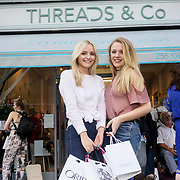Charlotte Amanda Smith @charlotteeamandaa Josie Downing YouTube josiejourney11 attends the Threads & Co Beauty launches permanent retail concept store everything from coffee to beauty to retail therapy on 24th May 2017. by See Li