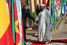 Morocco - Africa Action Summit In Marrakesh - 16 Nov 2016