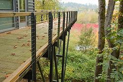 United States, Washington, Bellevue, Mercer Slough Nature Park, environmental education center