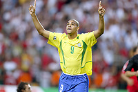FOOTBALL - CONFEDERATIONS CUP 2003 - GROUP B - BRASIL V TYRKIA - 030623 - JOY ADRIANO - PHOTO JEAN MARIE HERVIO / DIGITALSPORT *** Local Caption *** 40000731