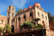 Cappella di San Cataldo, Norman style Medievalo Church, Palermo, Sicily