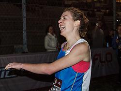 Beer Mile World Championships, Inaugural, Women's Elite race, Elizabeth Herndon wins, sets new world record