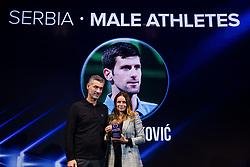 Novak Djokovic Award during Sports marketing and sponsorship conference Sporto 2017, on November 16, 2017 in Hotel Slovenija, Congress centre, Portoroz / Portorose, Slovenia. Photo by Vid Ponikvar / Sportida