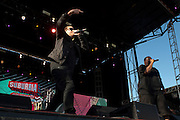 Run The Jewels performs during Suburbia Fest in Plano, Texas on May 3, 2014.