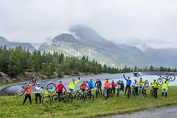 13-09-2017 FRA: BvdGF Tour du Mont Blanc day 4, Trient<br /> Van Chamonix naar Trient. <br /> Team Green en Blue