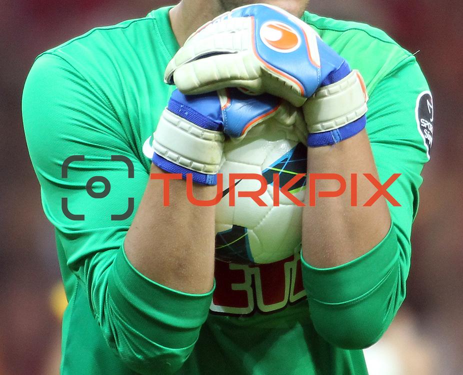 Eskisehirspor's Goalkeeper Ruud Jorge Boffin during their Turkish Super League soccer match Galatasaray between Eskisehirspor at the TT Arena at Seyrantepe in Istanbul Turkey on Saturday, 06 October 2012. Photo by TURKPIX