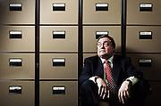 John Prescott, MP for Hull in his Westminster Office