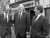 1986 - Taoiseach,Garret Fitzgerald,at Kelly's Kilcock