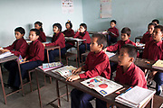 Class 0, pre-school. The Good Weave Foundation runs a rehabiltation centre for children they have rescued from the carpet factories. Most of the chilren are illiterate and GWF   provide the children with education based on their abillities.