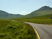 A quiet country road in Ballaghisteen Pass near Glencar in County Kerry.<br /> Picture by Don MacMonagle