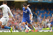 Diego Costa of Chelsea in action. Barclays Premier League, Chelsea v Crystal Palace at Stamford Bridge in London on Saturday 29th August 2015.<br /> pic by John Patrick Fletcher, Andrew Orchard sports photography.