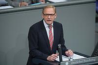 22 FEB 2013, BERLIN/GERMANY:<br /> Franz-Josef Holzenkamp, MdB, CDU, Bundestagsdebatte zum Verbraucherschutz, Plenum, Deutscher Bundestag<br /> IMAGE: 20130222-01-015