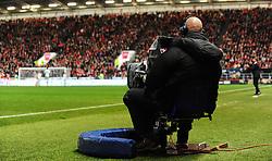 Tv Camera  - Mandatory by-line: Alex Davidson/JMP - 20/12/2017 - FOOTBALL - Ashton Gate Stadium - Bristol, England - Bristol City v Manchester United - Carabao Cup Quarter Final