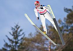 18.03.2010, Triglav, Planica, SLO, FIS SKI Flying World Championships 2010, Qualifikation, im Bild UHRMANN Michael ( GER, #59 ), EXPA Pictures © 2010, PhotoCredit: EXPA/ J. Groder / SPORTIDA PHOTO AGENCY