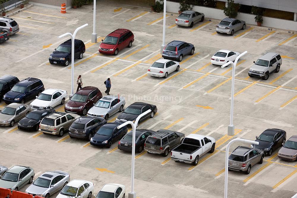 Parking lot in Metropolitan Area of San Juan, Puerto Rico