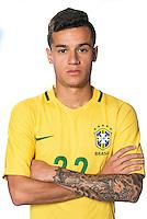 Football Conmebol_Concacaf - <br />Copa America Centenario Usa 2016 - <br />Brazil National Team - Group B - <br />Philippe Coutinho